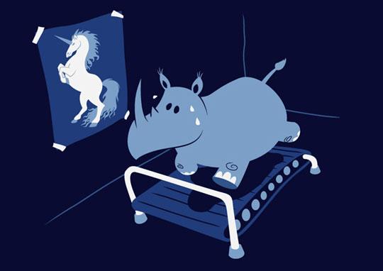 funny-rhino-unicorn-treadmill