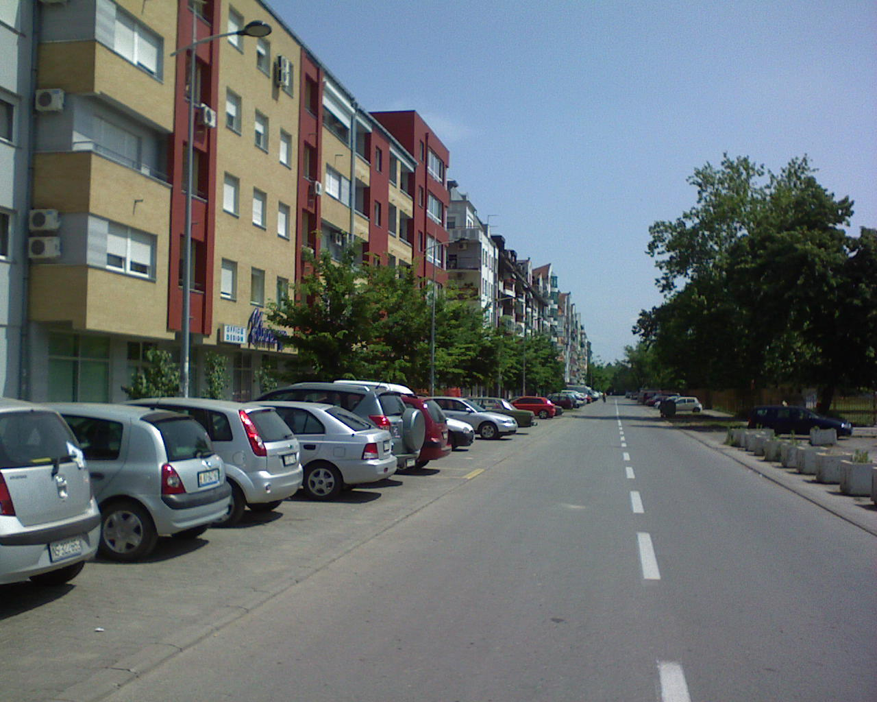 Gde se izgubila neparna strana Mičurinove ulice ?