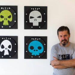 """Otvorena izložba """"Smrt vreba"""", akademskog umetnika Danijela Babić (galerija SULUV)"""