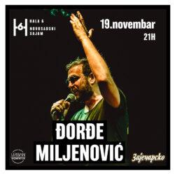 ĐORĐE MILJENOVIĆ / HALA 6 , SAJAM, NS/ 19.11.2021.
